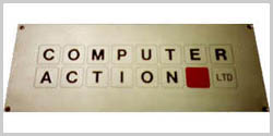 computer action nameplate